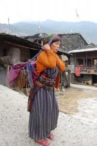 Passangs Mann starb vergangenes Jahr, ihre Familie lebt von gekochten Kartoffeln und Kichererbsen.