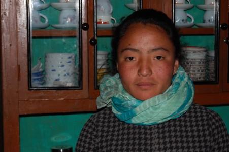 Phura möchte gern ihren Bachelor machen und danach wieder Kinder aus Bergdörfern unterrichten.